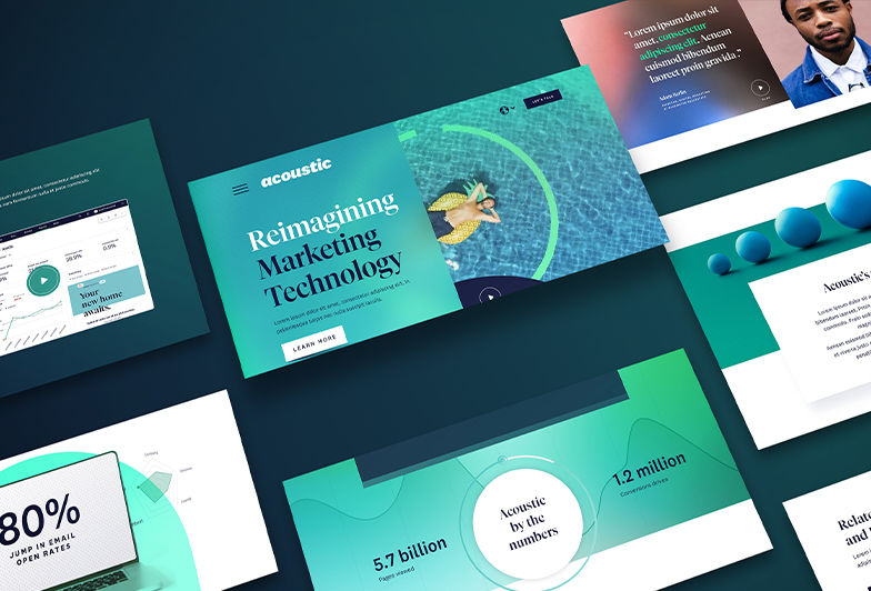 Acoustic: Reimagining the B2B Website Experience
